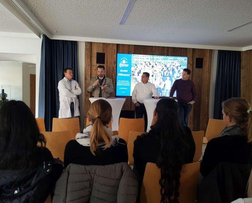 Karriereprogramm interactive Firmentag zur Privatbrauerei Hirt (Firmenpräsentation) | Foto: aau/Krömer