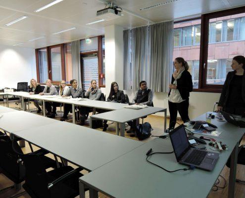 Karriereprogramm interactive! Firmentag zu Infineon | Foto: aau/Krömer