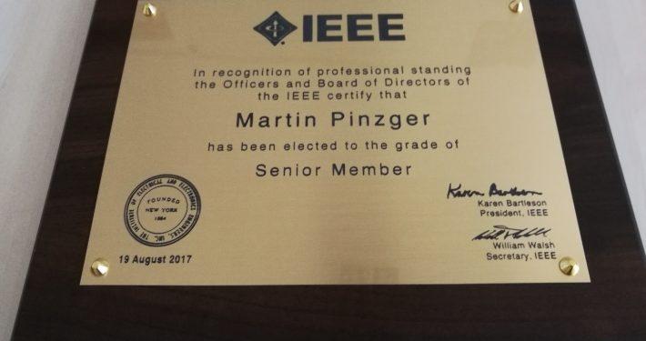 IEEE Senior Member
