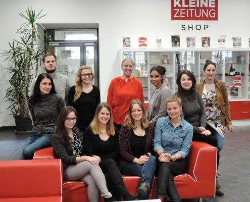 Karriereprogramm interactive! Firmentag zur Kleinen Zeitung | Foto: aau/Krömer