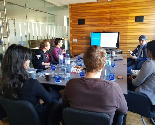 Karriereprogramm interactive Firmentag zu bitmovin | Foto: aau/Krömer