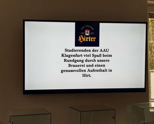 Karriereprogramm interactive Firmentag zur Privatbrauerei Hirt | Foto: aau/Krömer