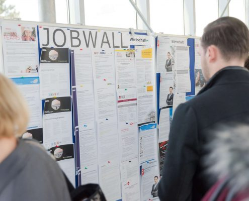 connect 2016 Job Wall | Foto: aau/MS Photography