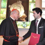 Kardinal Schönborn & Philipp Hungerländer | Foto: KK