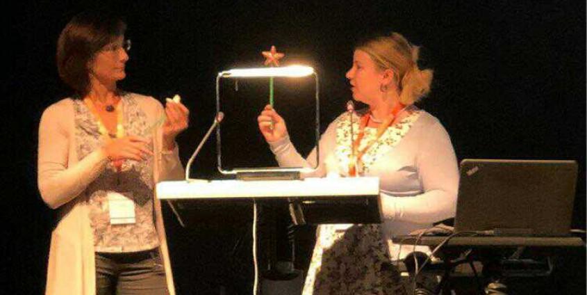 Claudia Steinberger & Judith Michael   Foto: KK