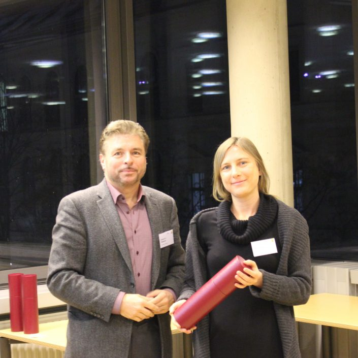 Christina Plank bei der Verleihung des Dissertationspreises | Foto: KK