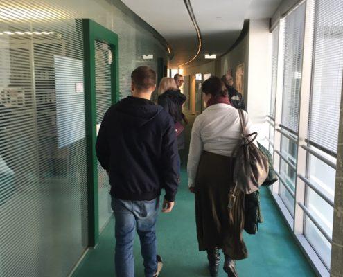 Karriereprogramm interactive Firmentag zur Strabag | Foto: aau/Leitgeb