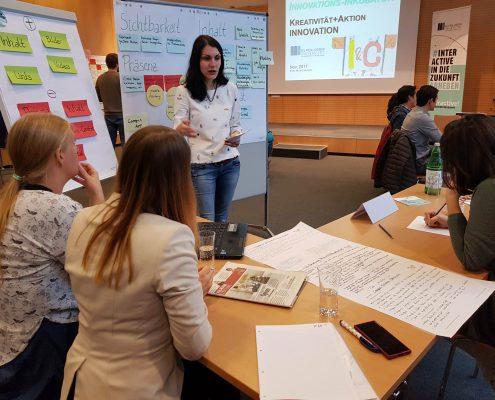 Karriereprogramm interactive! Innovationsinkubator 2017 | Foto: aau/Krömer