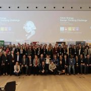 Gruppenfoto Clean Energy Design Thinking Challenge 2018
