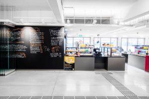 Mehr Platz für das M-Cafe der Mensa nach der Generalsanierung