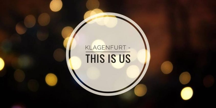 Logo Klagenfurt - this is us