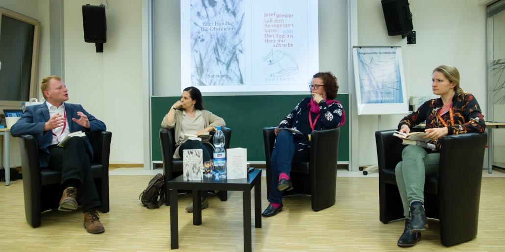 Lange Nacht der Forschung 2018 | Marc-Oliver Schuster, Anna Baar, Doris Moser, Victoria Walter