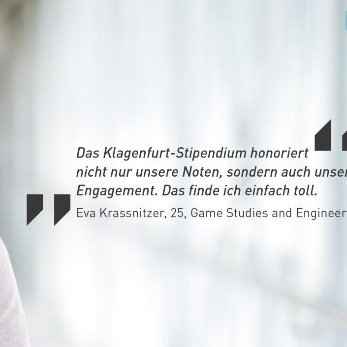 Klagenfurt-Stipendium_Banner | Foto: aau/Supanz
