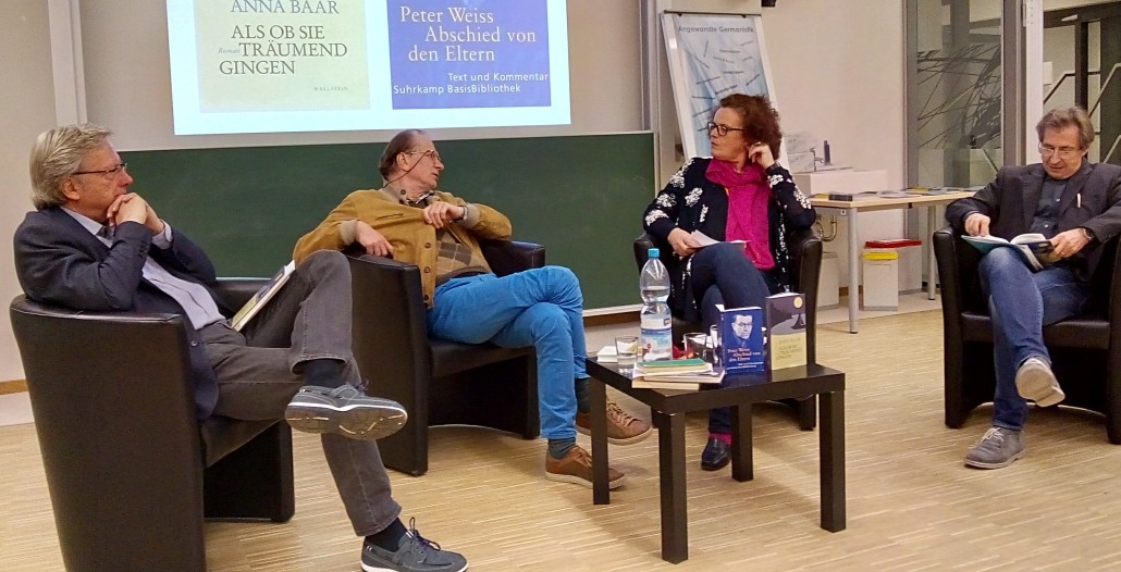 Lange Nacht der Forschung 2018 | Arno Rußegger, Josef Winkler, Doris Moser, Primus-Heinz Kucher