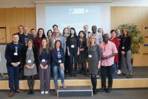 Die Teilnehmerinnen und Teilnehmer am Vision2020-Event
