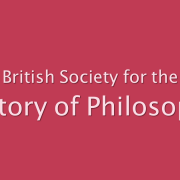 Sujetbanner History of Philosophy | www.bshp.org.uk