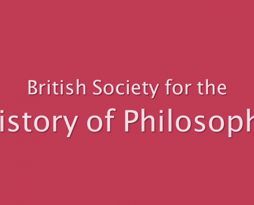 Sujetbanner History of Philosophy | www.bshp.org.uk
