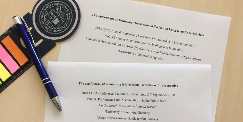 Papers EGPA Conference 2018, photo: Komar I.