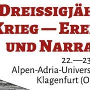 """Sujet Internationale Konferenz """"Der Dreißigjährige Krieg – Ereignis und Narration"""""""
