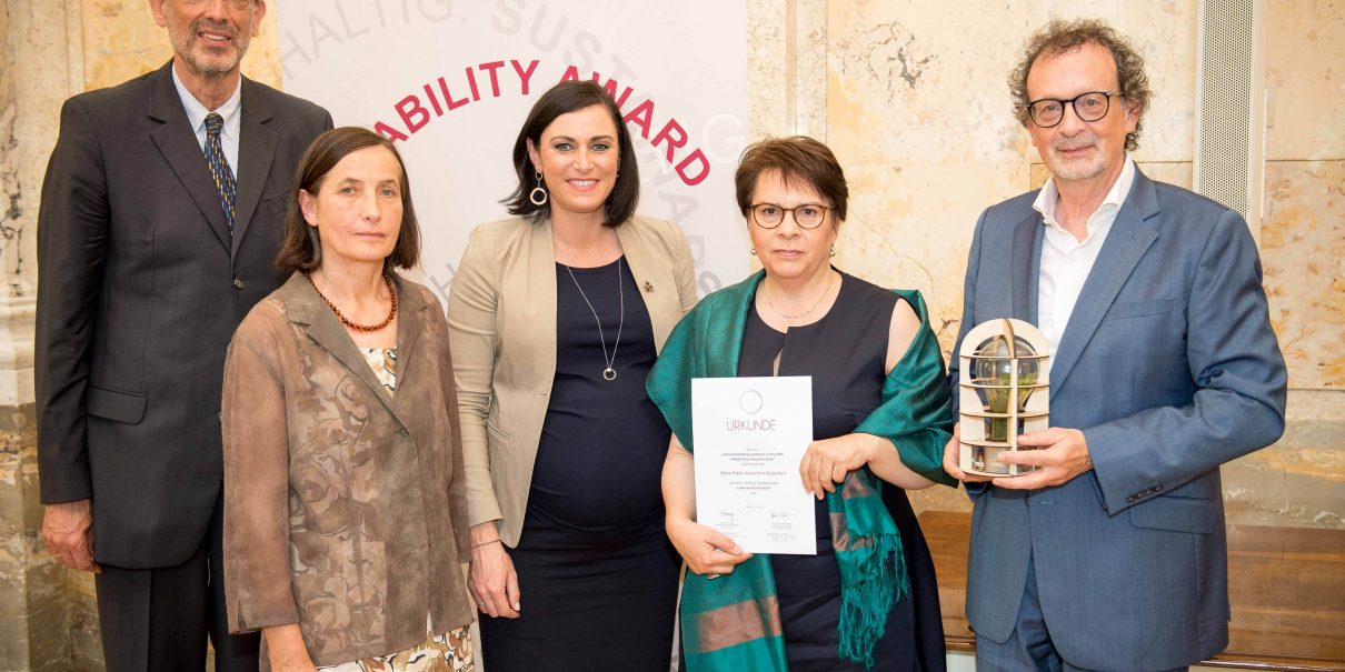 Sustainability Award 2018