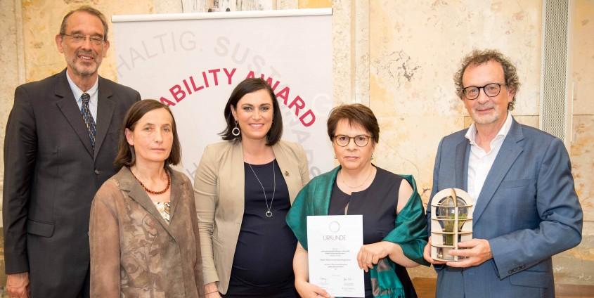 Sustainability Award 2018