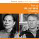 """Ankündigungsbild """"Klagenfurt. Literarisch"""" mit Anna Baar und Jo Lendle"""