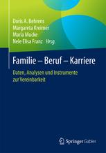 Familie - Beruf - Karriere / Buchcover