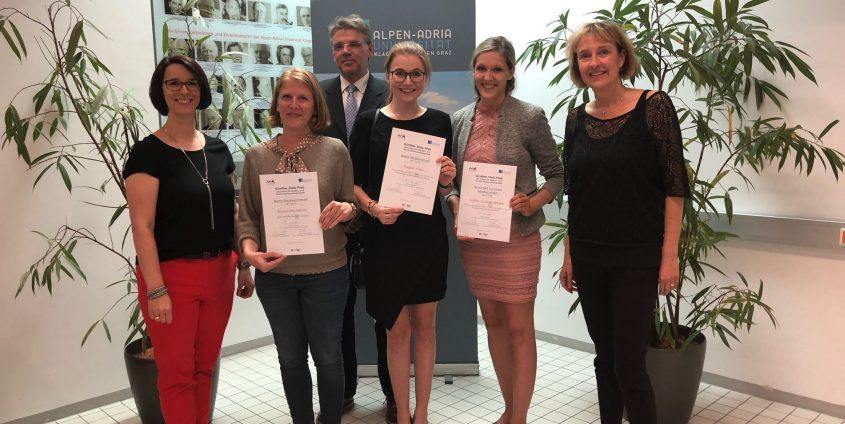 Günther-Stotz-PreisträgerInnen 2018 | Foto: aau/MK