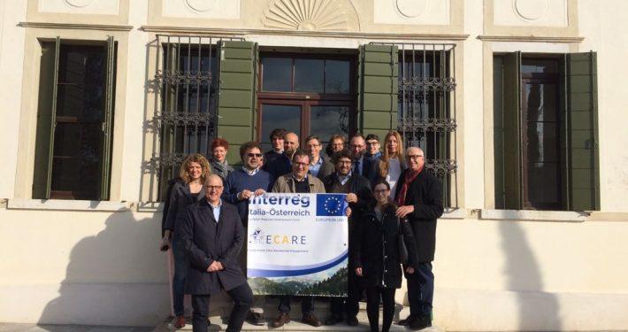 ECARE Projekt-Kick-Off Treviso Gruppenfoto