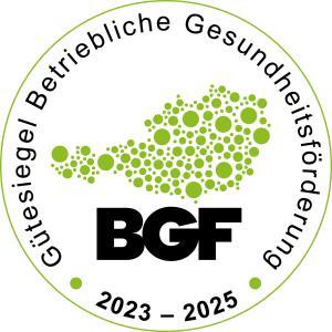 BGF-Gütesiegel 2020-2022