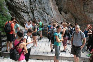 Sommerkolleg Bovec 2018: Wanderung entlang der Soča/Isonzo