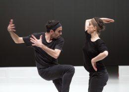 "Szenenfoto: Tanztheaterfestival ""Pelzverkehr"", Matija Ferlin: Staging a play: The Glass Menagerie"