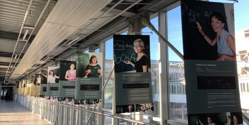 """Ausstellung """"Women of Mathematics"""""""