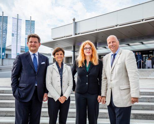 Rektorat der Universität Klagenfurt beim Neujahrsempfang 2018