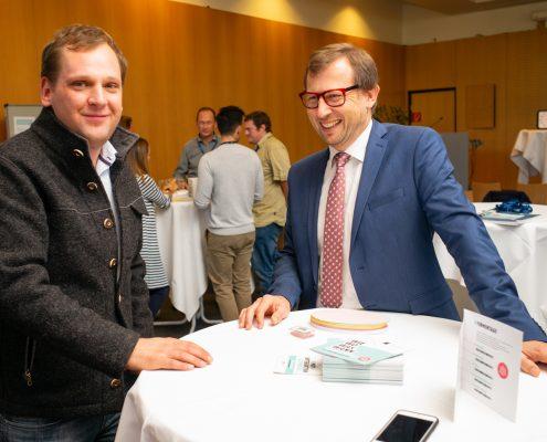 Philip Kucher und Erich Schwarz | Foto: aau/photo riccio