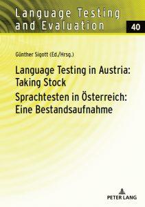 Sprachtesten in Österreich | Buchcover