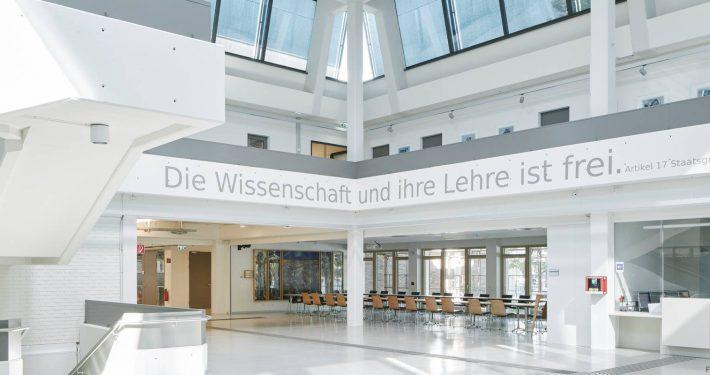 Foyer der Universität Klagenfurt