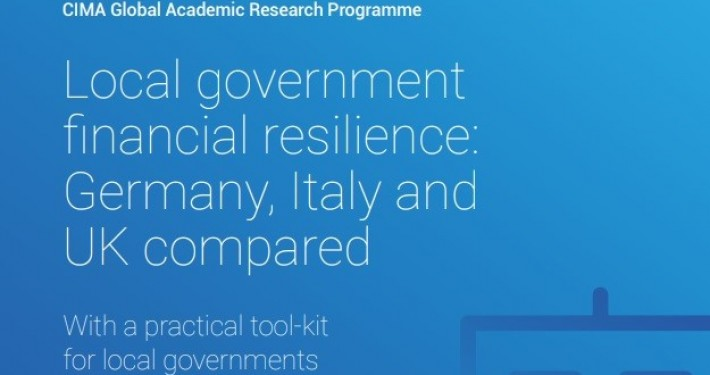 """Buchcover """"Local government financial resilience: Germany, Italy and UK compared"""", photo: Korac S."""