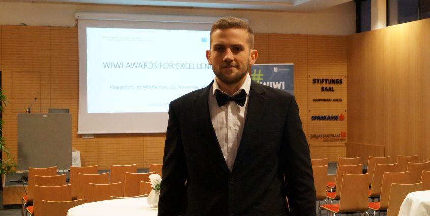 Michael Nečemer, ausgezeichneter Student