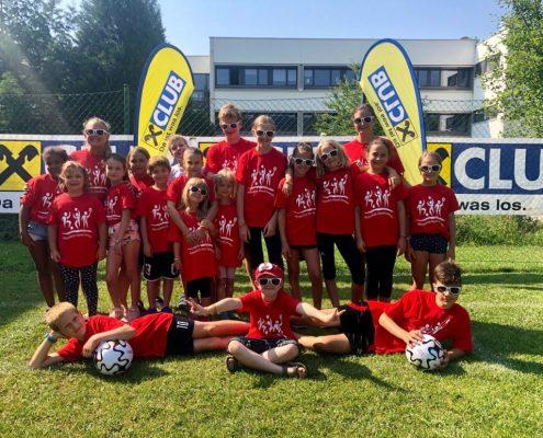 Fun & Action bei der ersten Sommersportwoche für Kinder am USI Klagenfurt