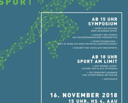 SPORT AM LIMIT (Symposium und Podiumsdiskussion)