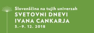 Svetovni dnevi slovenskega jezika 2018