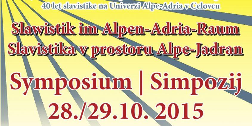 Slawistik im Alpen-Adria-Raum