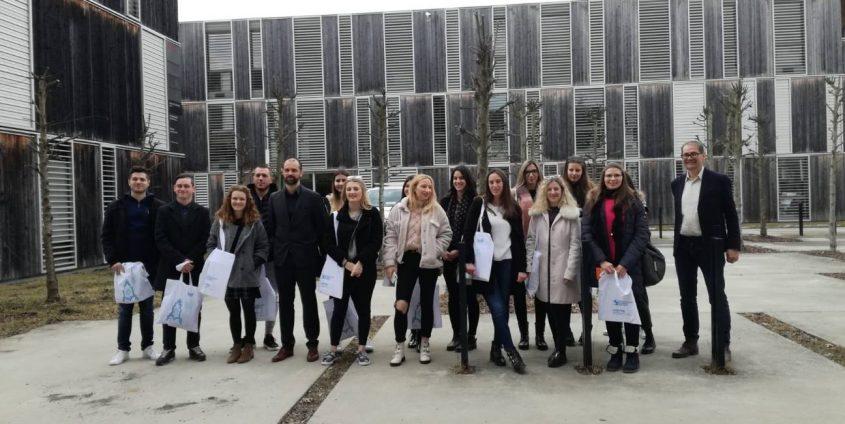 Studierende der Partneruniversität Rijeka, Foto: Wirtschaftswissenschaften Uni Klagenfurt