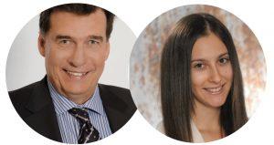 Klagenfurt-Stipendium | Tandem: Michael Kern und Kathrin Spendier