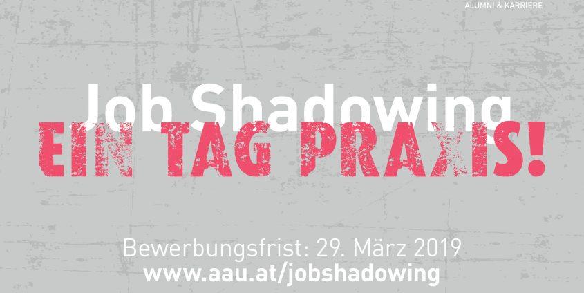 Job Shadowing - Postkarte