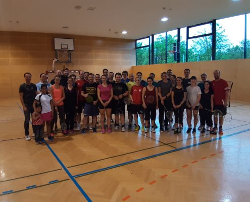 Gruppenbild Kärntner Akademische Meisterschaften in Badminton