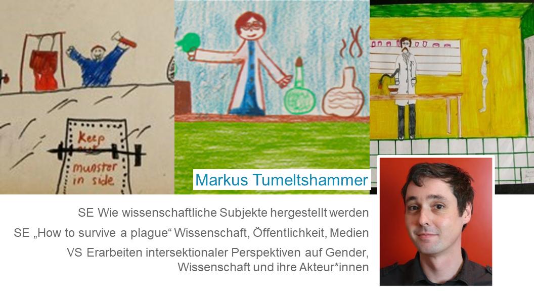 Markus Tumeltshammer: Lehrveranstaltungen im Wintersemester