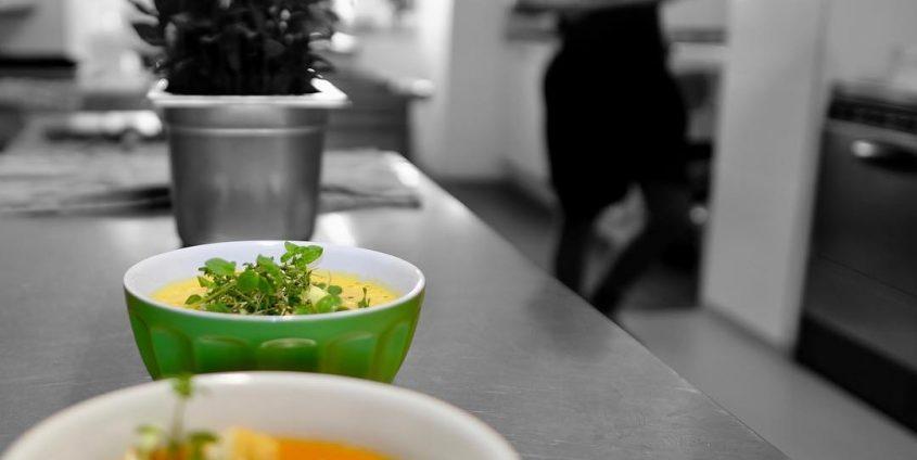 Nachhaltig gut essen bei Kleeblatt, Trivida und Suppenglück