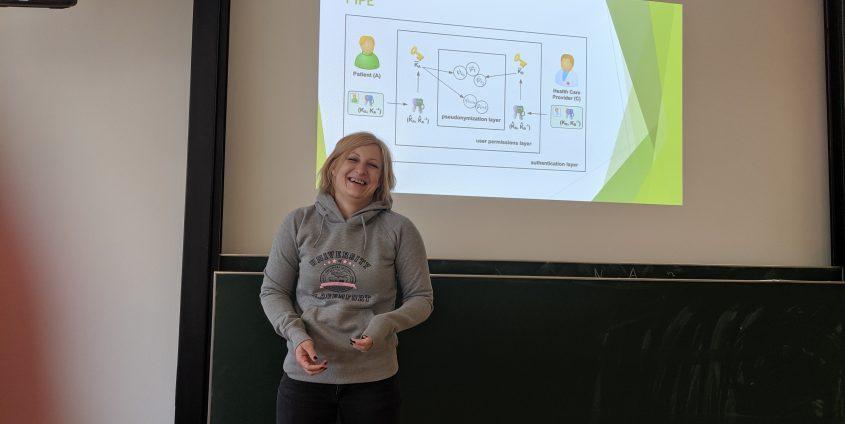Vortrag im Rahmen Mathematik in der Praxis - Beruflicher Werdegang von Mathematikerin Frau DI Veronika Grascher 16-05-2019